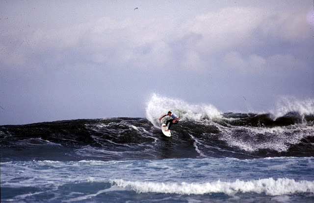 Tom Curren en el año 1997 (foto: Gonzalo Cueto)